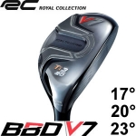 Royal collection RC BBD V7 远距 钛 铁木杆头